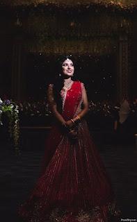 Bridal Photoshoot Pose Indian