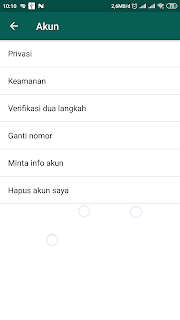 menu akun whatsapp