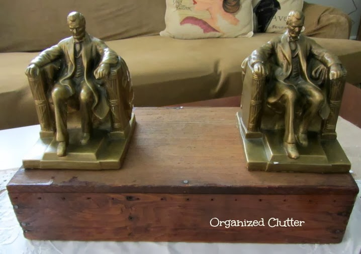 President's Day Presidential Memorabilia on Display www.organizedclutterqueen.blogspot.com