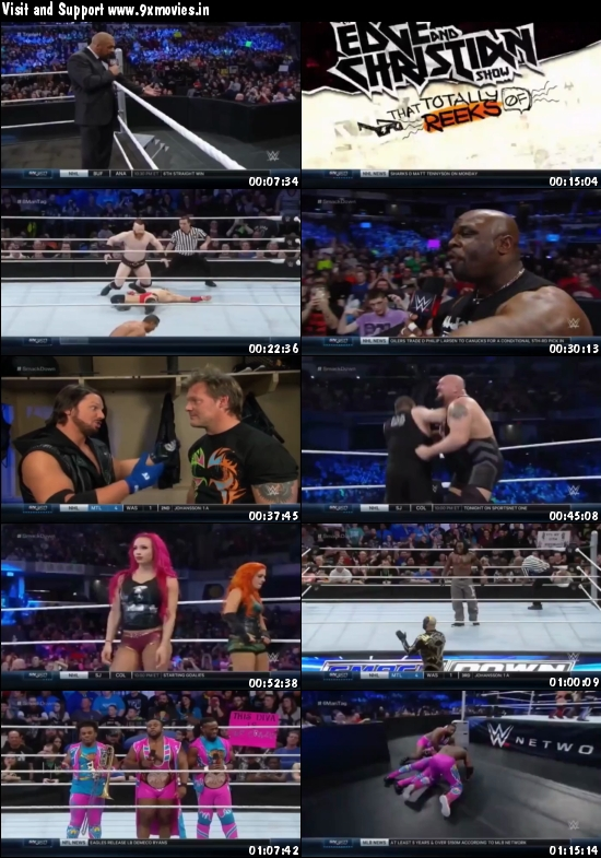 WWE Thursday Night Smackdown 25 Feb 2016 HDTV 480p