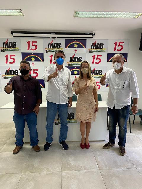 MDB declara apoio a Camila Machado em Sirinhaém