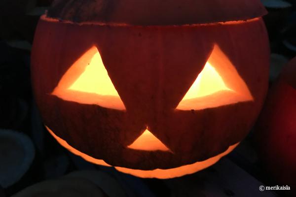 Halloween kurpitsalyhty