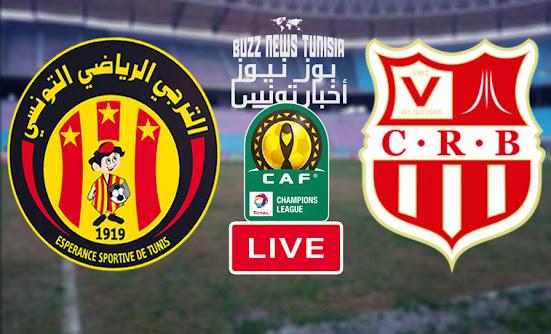 Match Esperance de Tunis vs Chabab Belouizdad Live Streaming