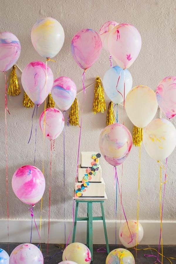30 ideas de decoraci n con globos para cumplea os top 2019 for Idea deco en blanco y negro
