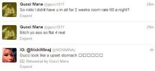 Gucci Mane Twitter Rant Nicki Minaj