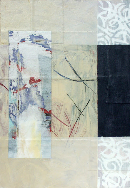 Origin - Painting from the Fragments Series - Rosemary Marchetta