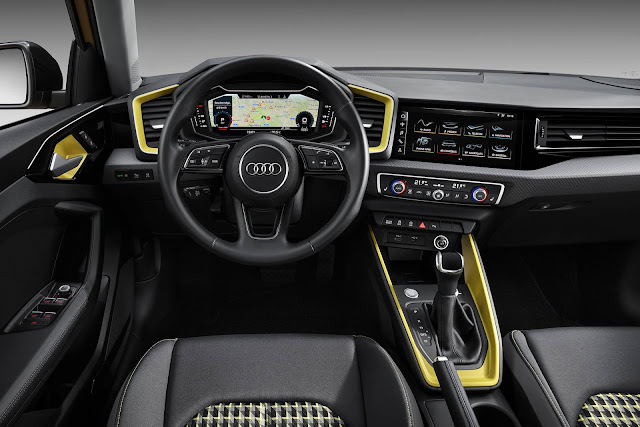 Novo Audi A1 2019 - painel