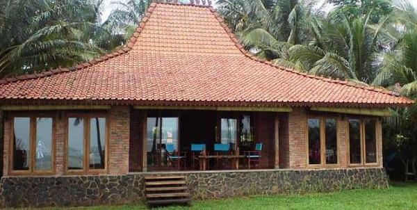 Rumah adat Jawa tengah (Rumah Joglo)