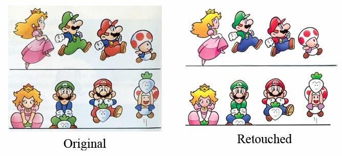 O-chan's Blog of Protoculture: Super Mario Bros  Art Style