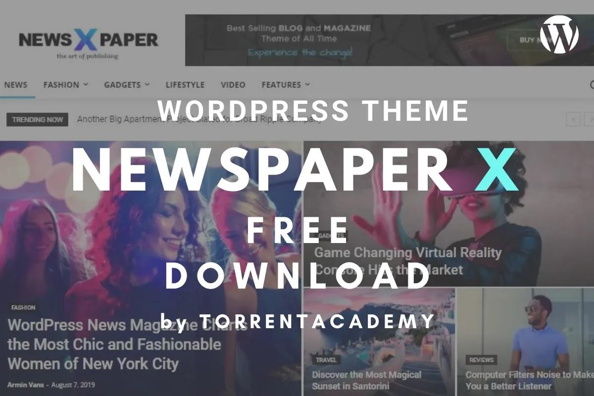 Newspaper X WordPress theme free download Latest Version
