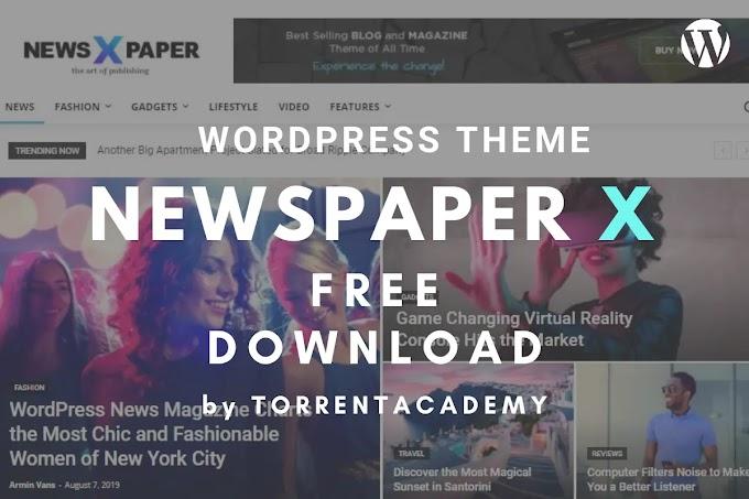 Newspaper X v11 WordPress Theme Free Download 2021