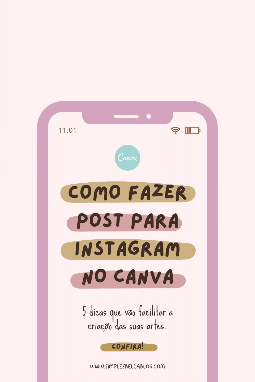 Como fazer posts para o Instagram no Canva