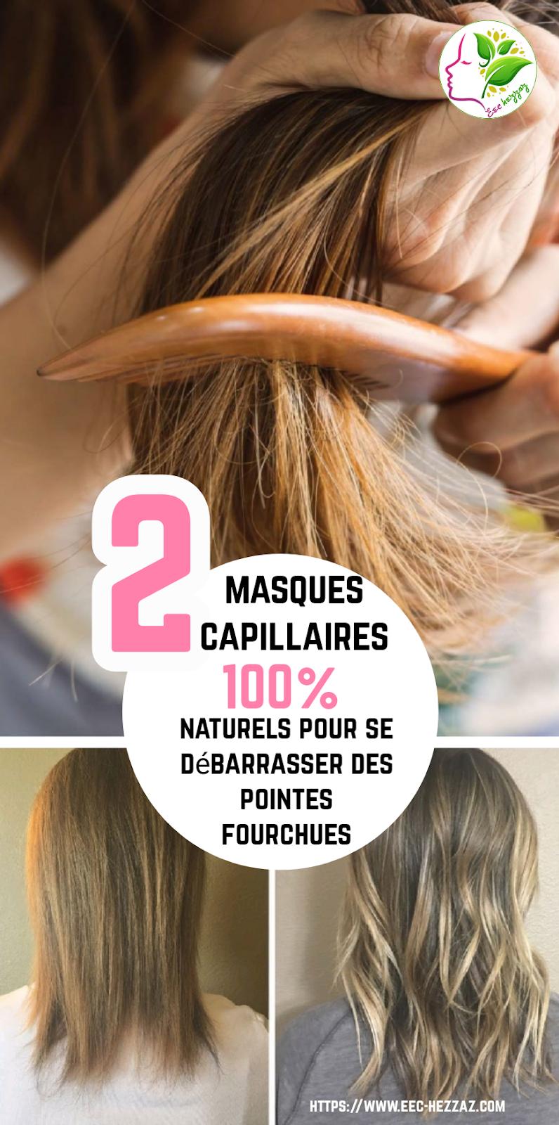 2 masques capillaires 100% naturels pour se débarrasser des pointes fourchues