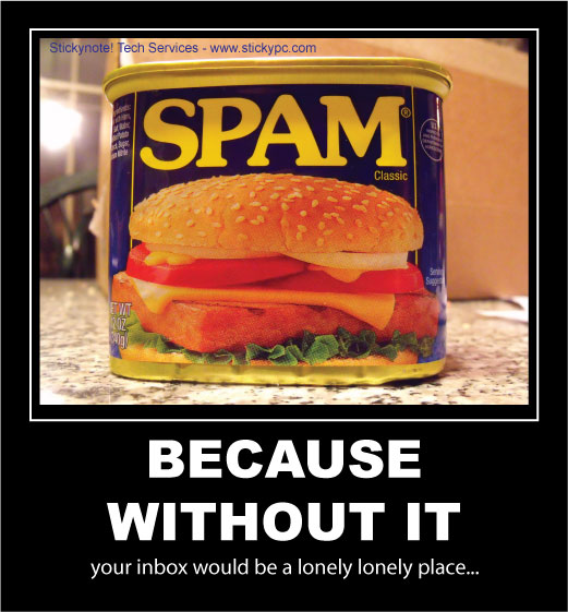 Six Decades And Counting...Life Reinvented : Spamming The