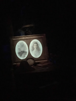 Constance Hatchaway Wedding Photo Decapitated Husband Haunted Mansion Disneyland