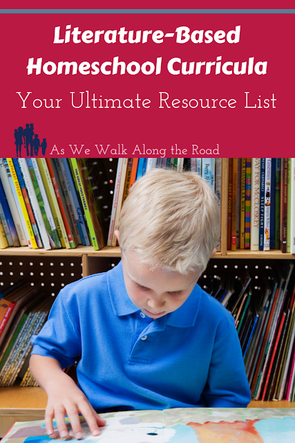 Literature-based homeschool curricula