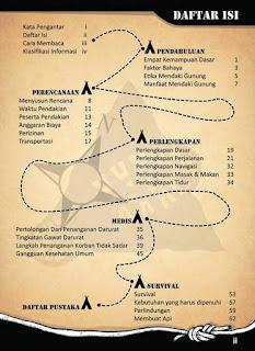 panduan dasar kegiatan pendakian gunung
