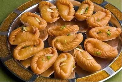 gujhiya recipi
