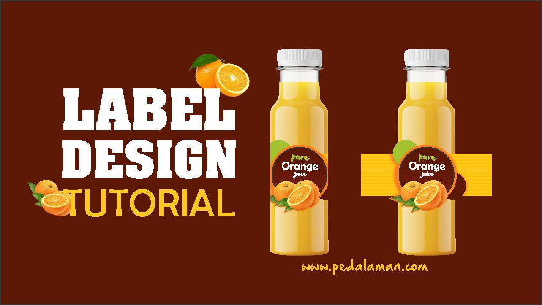 Membuat label minuman di coreldraw