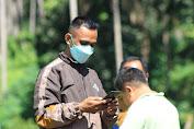 Wartawan Senior Kena Jepretan Dilokasi TMMD Ke 111 TA 2021