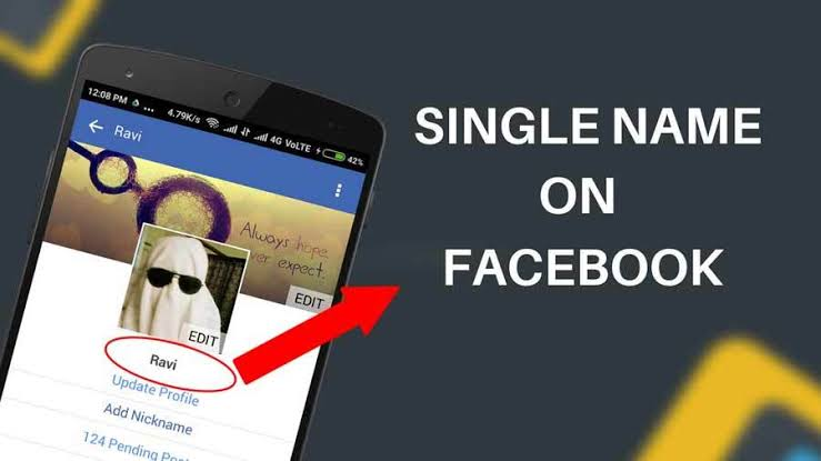 Facebook single name করুন সব থেকে সহজ উপায়ে।