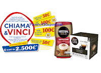 """""""Nescafé Chiama e Vinci"""" : in palio buoni spesa MD fino a 2500 euro e TV Samsung"""