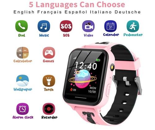 Jsbaby Call Camera Alarm Kids Smart Watch