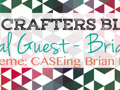 Crazy Crafters Blog Hop with Brian King