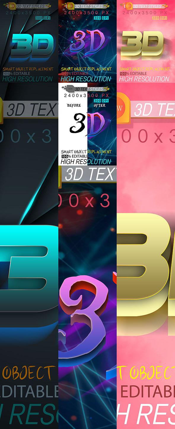 Bundle Mix 3D Text Effect 12_9_20 28673558