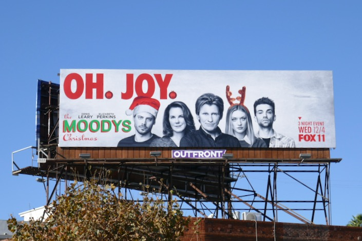 Moodys Christmas Oh Joy billboard
