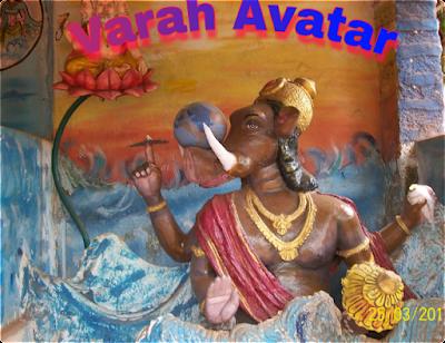 Varaha Avatar.