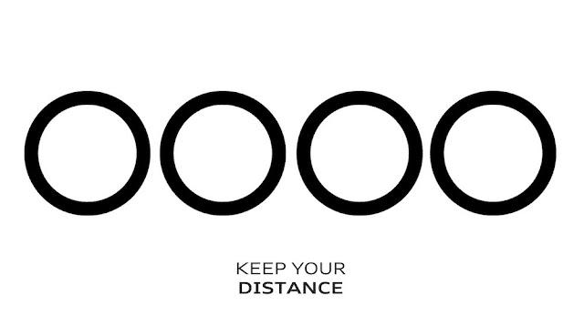 アウディとVWがロゴでコロナ感染予防対策!距離を取ることの大切さをアピール。