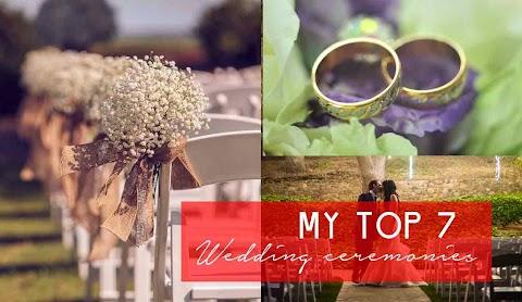 My Top Wedding Ceremony Choices