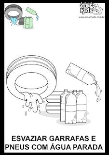 evite água parada