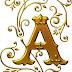 Abecedario Dorado Cuento de Hadas. Golden Alphabet for Fairy Tails