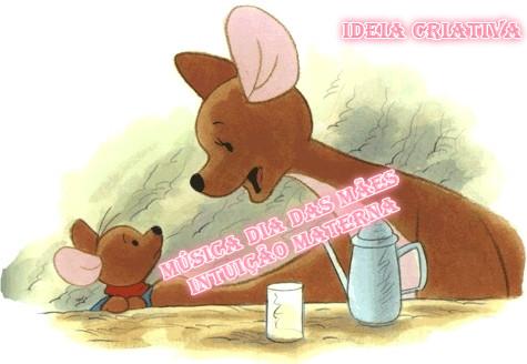 Música para o Dia das Mães com clip super fofinho com Guru e Leitão da Turma do Ursinho Pooh