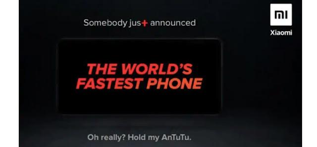 Redmi K20 Pro is the fastest smartphone
