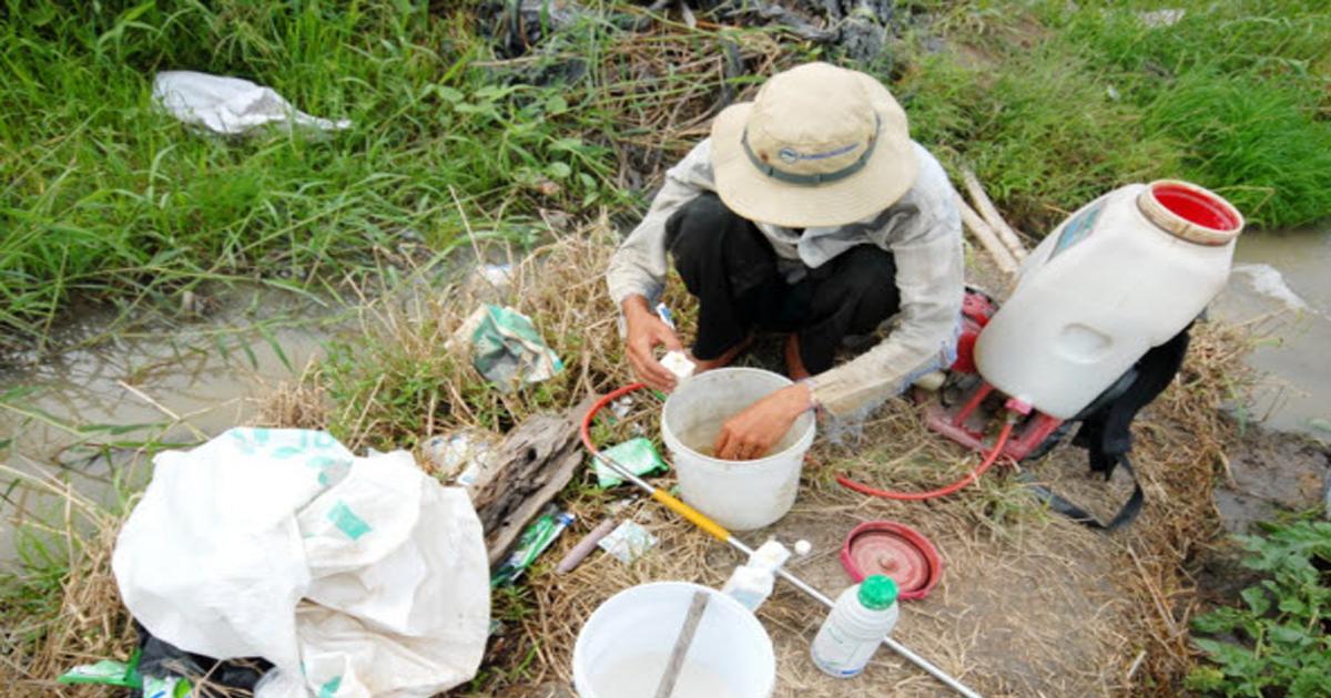 Rác thải nông nghiệp và những vấn đề ô nhiễm môi trường