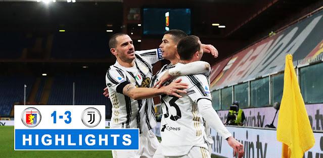 Genoa vs Juventus – Highlights