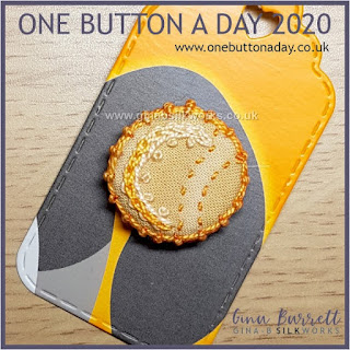 One Button a Day 2020 by Gina Barrett - Day 64: Shortcrust