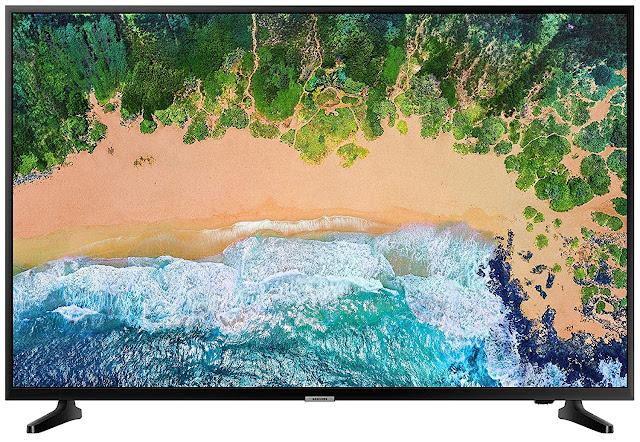 Samsung 139 cm (55 Inches) 4K Ultra HD LED Smart TV (Black) (2019 model)
