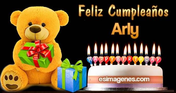 Feliz Cumpleaños Arly