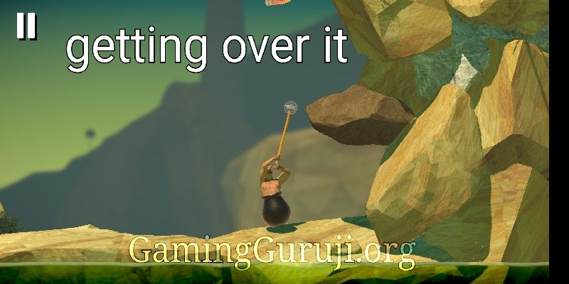 Getting over it android game screenshot