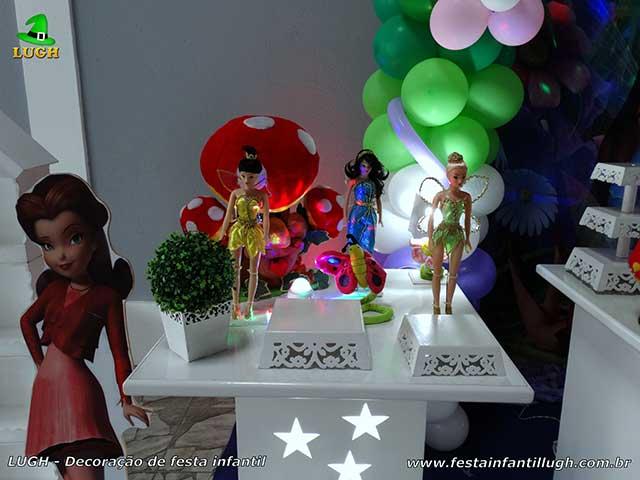 Mesa temática Tinker Bell (Sininho) provençal - aniversário infantil