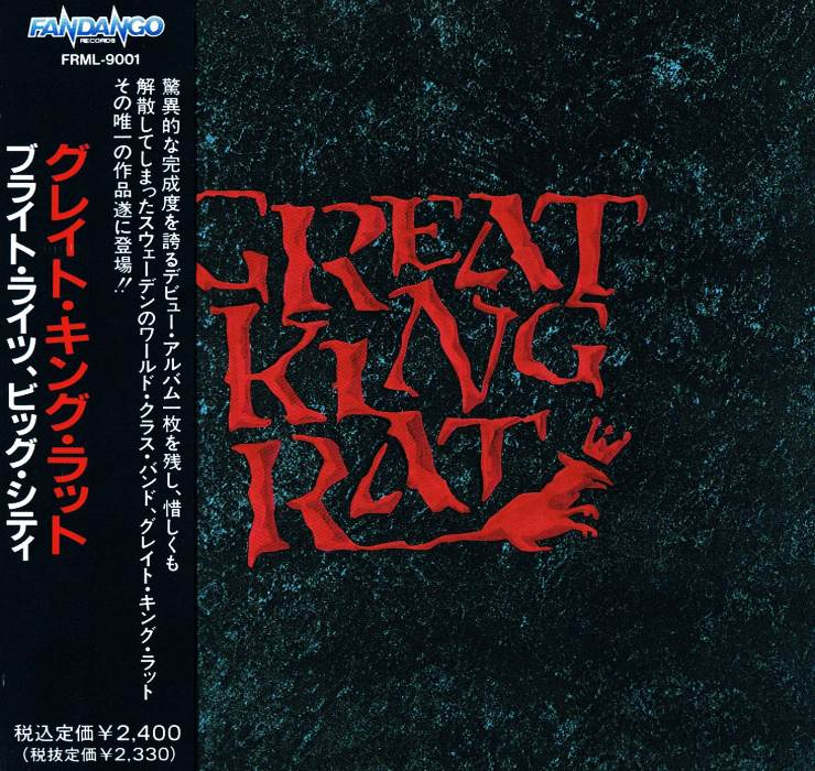 GREAT KING RAT - Great King Rat [Japan Edition +1] (1992)