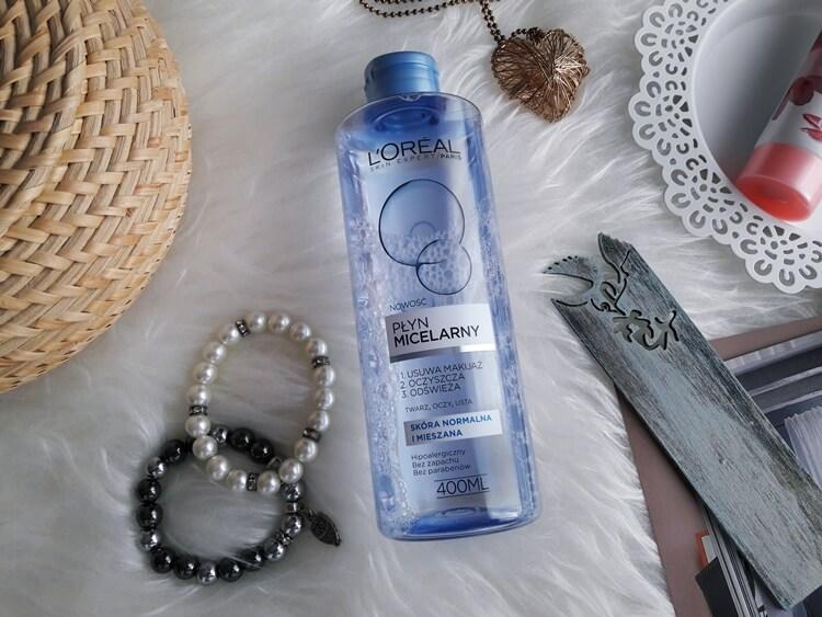 L'Oréal Paris, Skin Expert - płyn micelarny dla skóry normalnej i mieszanej