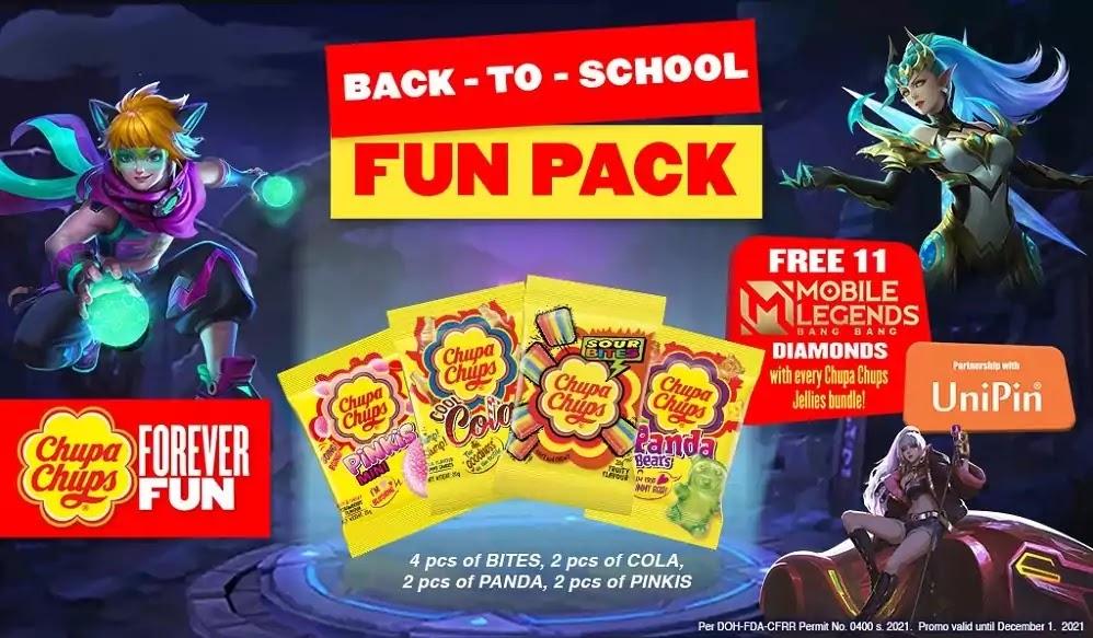 First Chupa Chups Jellies Fun Pack