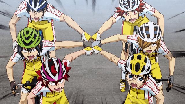 yowamushi pedal adalah anime sport tentang sepeda