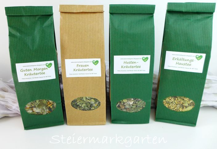 Teeverpackung-Steiermarkgarten