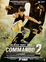 Commando 2 (2017) Hindi 720p DVDRip Full Movie Download